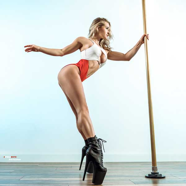 Aerial class at Pole Dance Factory
